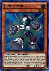 Junk Anchor - BLAR-EN065 - Ultra Rare - 1st Edition