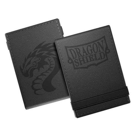 Dragon Shield: Life Ledger Scorepad  Black and Black