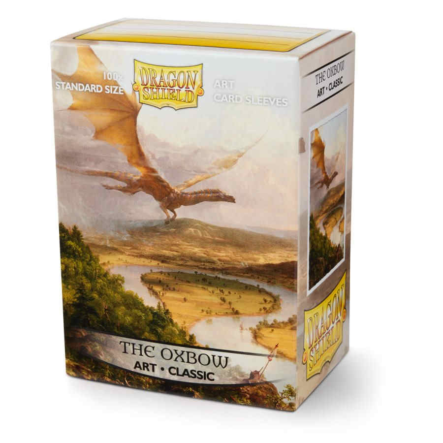 Dragon Shield Sleeves: Art the Oxbow (Box of 100) - Limited Edition