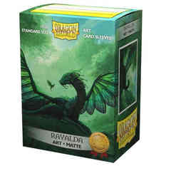 Dragon Shield Sleeves: Matte Art: Rayalda