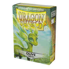 Dragon Shield Sleeves: Matte Olive (Box of 60)
