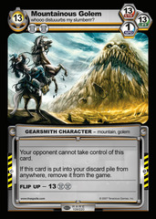 Mountainous Golem