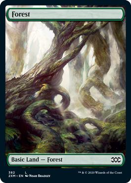 Forest (382) - Foil (BfZ Art)