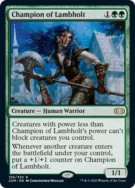 Champion of Lambholt - Foil