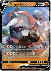 Rhyperior V - 095/189 - Ultra Rare on Channel Fireball