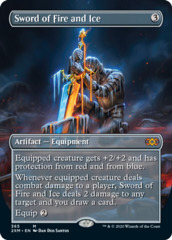 Sword of Fire and Ice (Borderless) - Foil