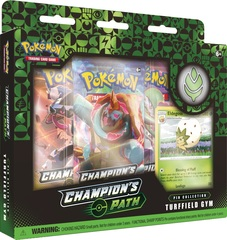 Champion's Path - Turffield Gym Pin Collection
