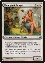 Cloudgoat Ranger - Foil - The List
