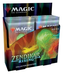Zendikar Rising Collector Booster Pack Display (12 Packs)
