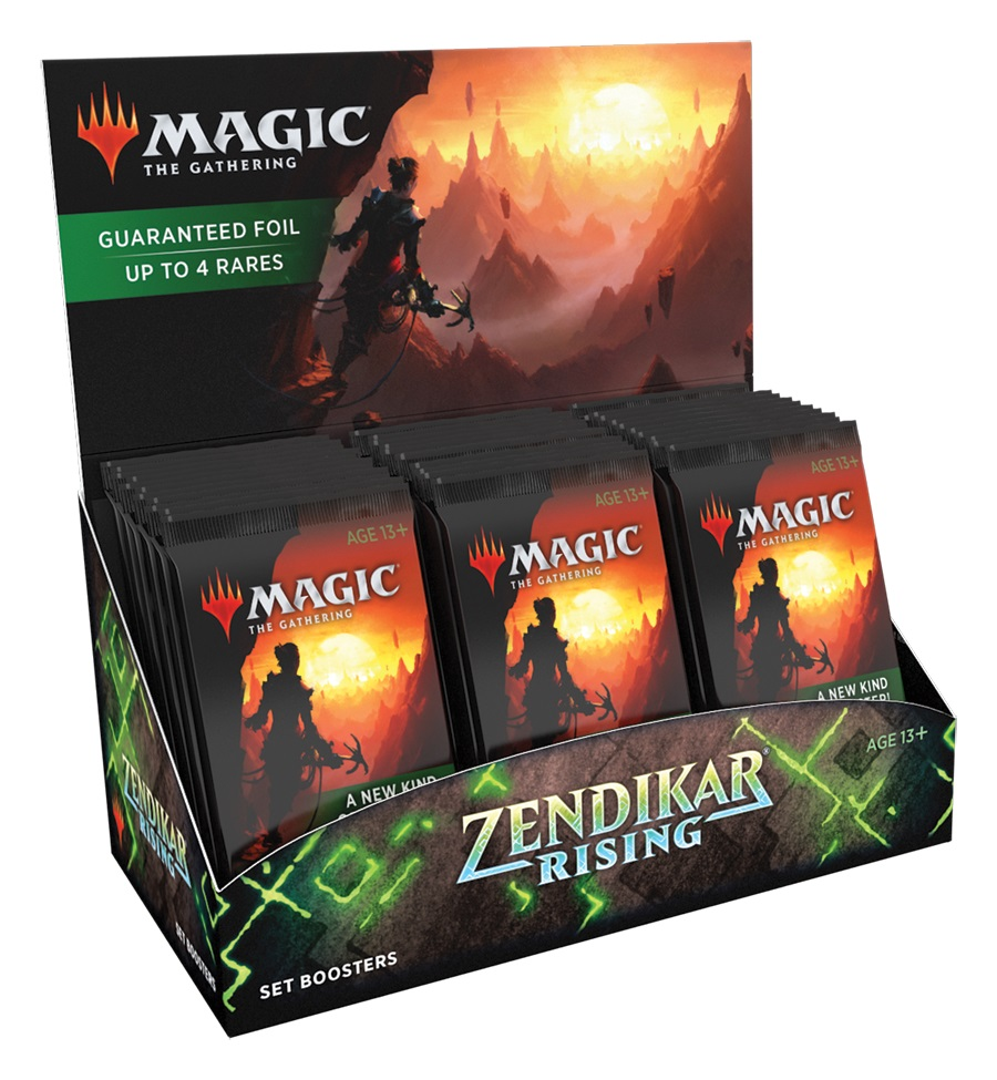 Zendikar Rising Set Booster Pack Display (30 Packs)