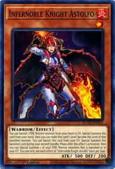 Infernoble Knight Astolfo - ROTD-EN012 - Common - 1st Edition