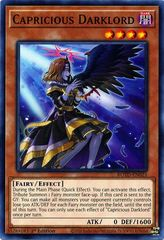 Capricious Darklord - ROTD-EN023 - Common - 1st Edition