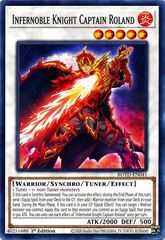 Infernoble Knight Captain Roland - ROTD-EN041 - Common - 1st Edition