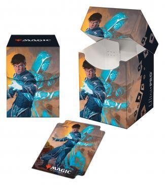 Ultra Pro - Zendikar Rising PRO 100+ Deck Box for Magic: The Gathering - Jace, Mirror Mage