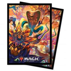 Ultra Pro - Zendikar Rising: Standard Deck Protector sleeves 100ct for Magic: The Gathering - Lotus Cobra