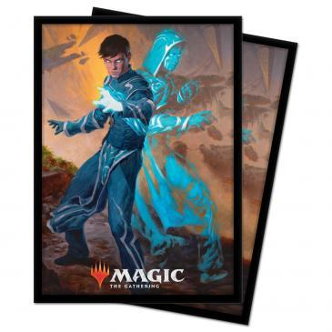 Ultra Pro - Zendikar Rising: Standard Deck Protector sleeves 100ct for Magic: The Gathering - Jace, Mirror Mage