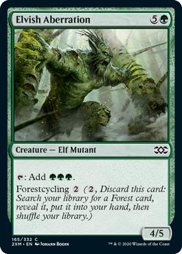 Elvish Aberration - Foil