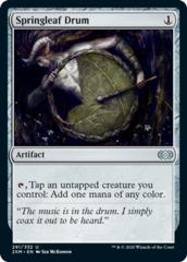 Springleaf Drum - Foil