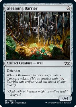 Gleaming Barrier - Foil