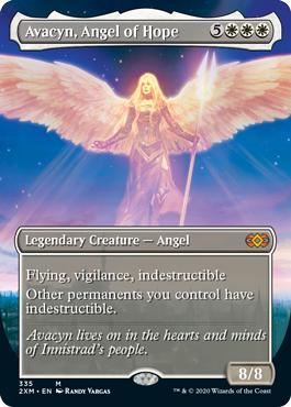Avacyn, Angel of Hope - Borderless