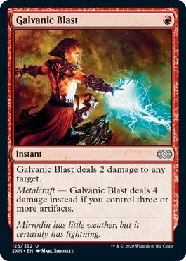 Galvanic Blast - Foil