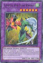 Elemental Hero Flame Wingman - DT03-EN035 - Duel Terminal Normal Parallel Rare - 1st Edition