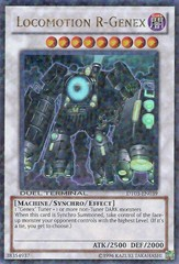 Locomotion R-Genex - DT03-EN039 - Duel Terminal Ultra Parallel Rare - 1st Edition on Channel Fireball