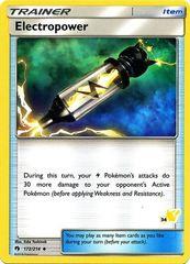 Electropower - 34 - Uncommon - Battle Academy: Pikachu Deck