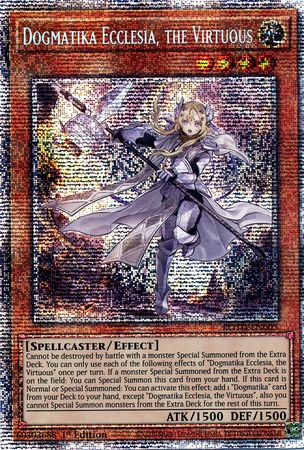 Dogmatika Ecclesia, the Virtuous - ROTD-EN005 - Starlight Rare - 1st Edition