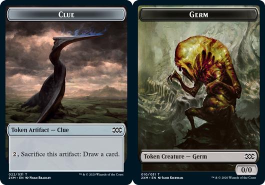 Clue Token // Germ Token - Foil