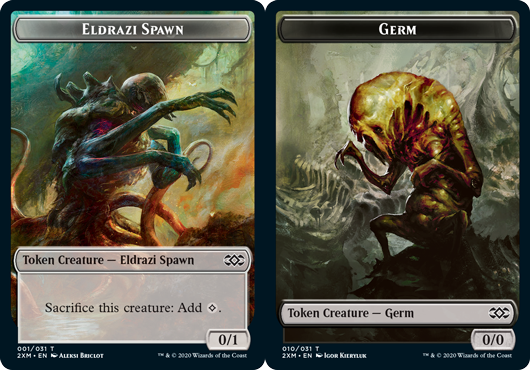 Eldrazi Spawn Token // Germ Token - Foil