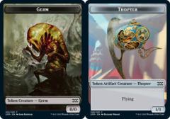 Germ Token // Thopter Token - Foil