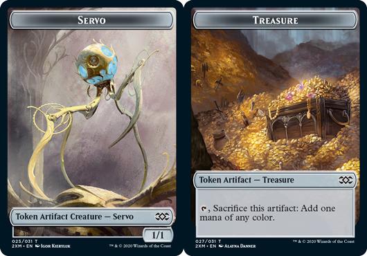 Servo Token // Treasure Token - Foil