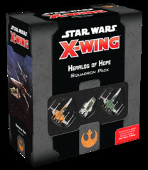 Star Wars X-Wing - 2nd Edition - Heralds of Hope Squadron Pack