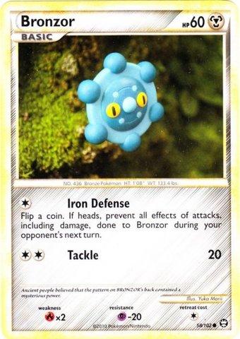 Bronzor - 58/102 - Common