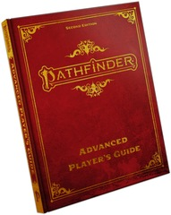 Pathfinder Advanced Player's Guide Special Edition Hardcover - Second Edition