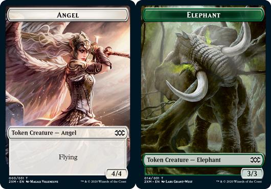 Angel Token // Elephant Token - Foil