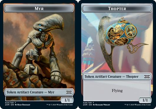 Myr Token (024) // Thopter Token (026) - Foil