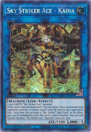 Sky Striker Ace - Kaina - MP20-EN023 - Prismatic Secret Rare - 1st Edition
