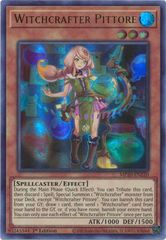 Witchcrafter Pittore - MP20-EN220 - Ultra Rare - 1st Edition