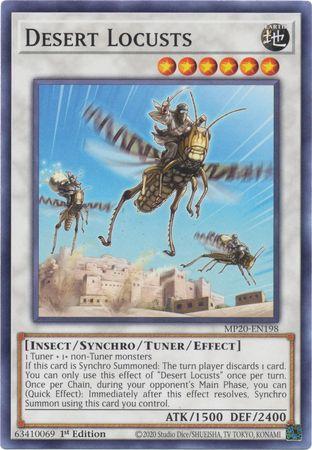 Desert Locusts - MP20-EN198 - Common - 1st Edition