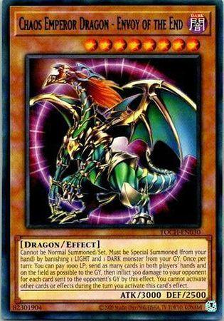 Chaos Emperor Dragon - Envoy of the End - TOCH-EN030 - Rare - Unlimited Edition