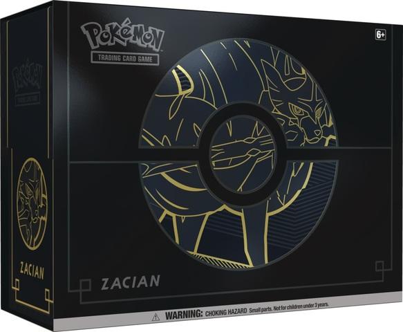 Sword & Shield - Elite Trainer Box Plus - Zacian