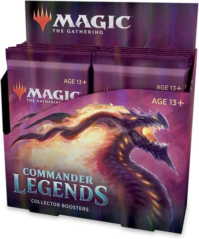 Magic the Gathering Commander Legends Collector Booster Pack Display (12 Packs)