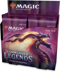 Commander Legends Collector Booster Pack Display (12 Packs) (No Store Credit, No Pay in Store)