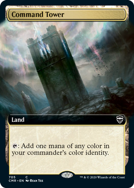 Command Tower - Foil - Extended Art