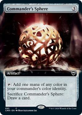Commanders Sphere - Foil - Extended Art
