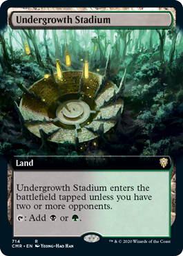 Undergrowth Stadium - Foil - Extended Art