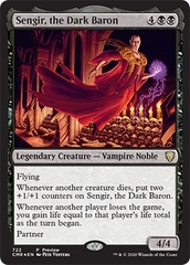 Sengir, the Dark Baron - Commander Legends Preview Promo