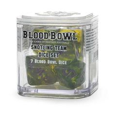 Blood Bowl: Snotlings - Team Dice Set